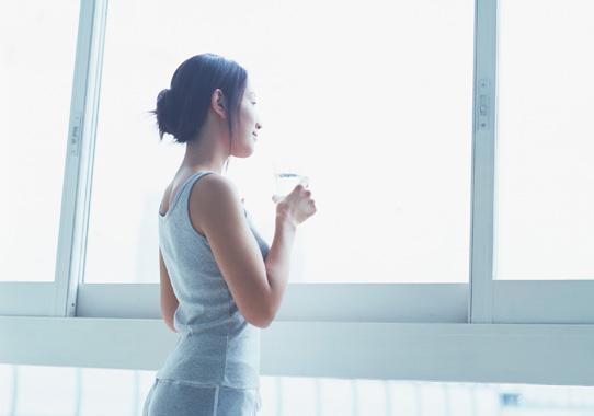 朝日がセロトニンを分泌させる
