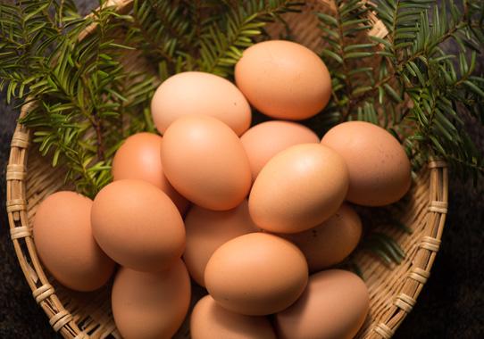 卵でセロトニンを増やす